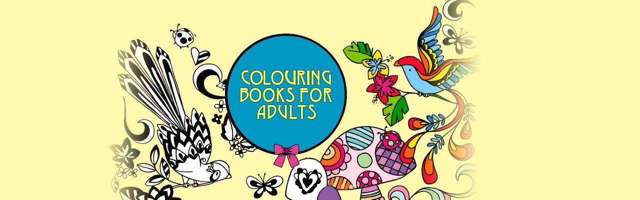 Colouring Books for Adults: How to Embrace Your Favourite Childhood Pastime Again