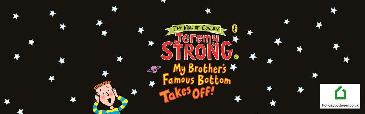 Competition! Win a £200 Voucher for HolidayCottages.co.uk & 10 Jeremy Strong Books