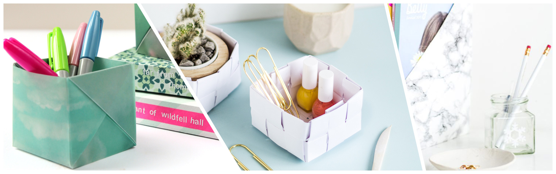 5 DIY Stationery Storage Ideas for Your Desk