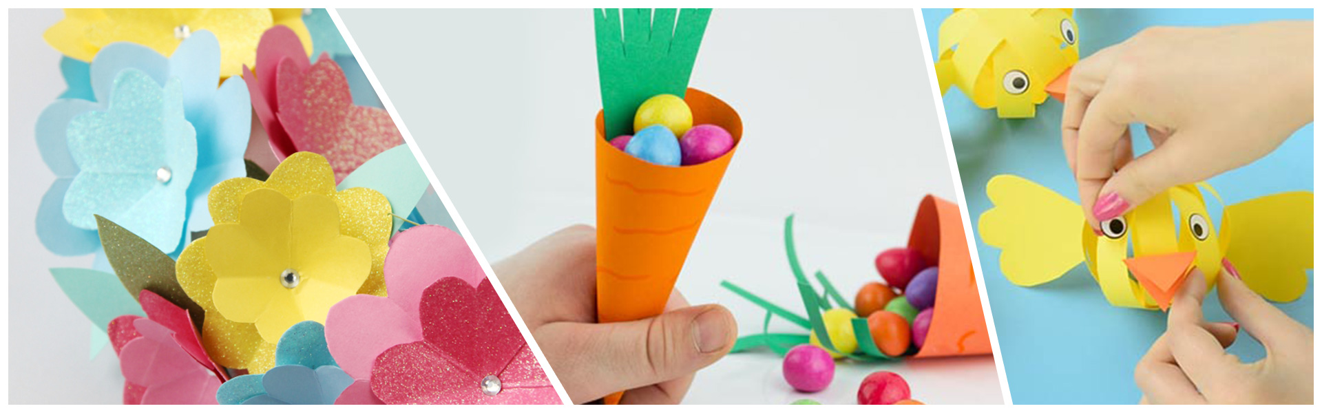 5 Easy Paper Crafts to Keep the Kids Busy over Easter