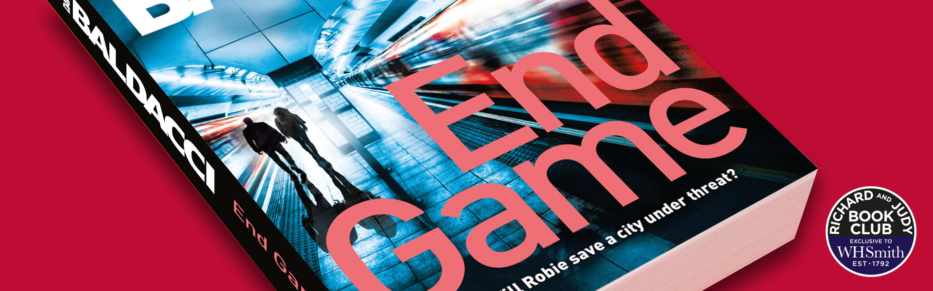 Richard and Judy Introduce End Game By David Baldacci