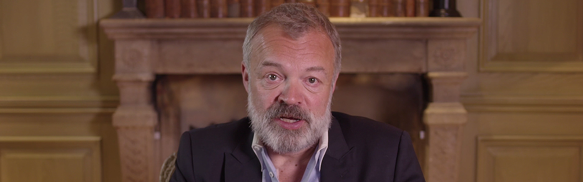 Graham Norton Introduces his First Novel Holding