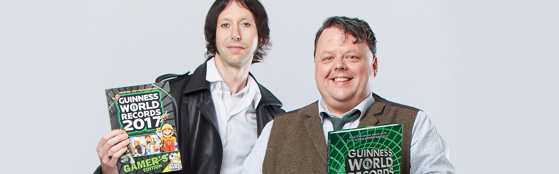 An Exclusive Interview with Craig Glenday and Stephen Daultrey from Guinness World Records™