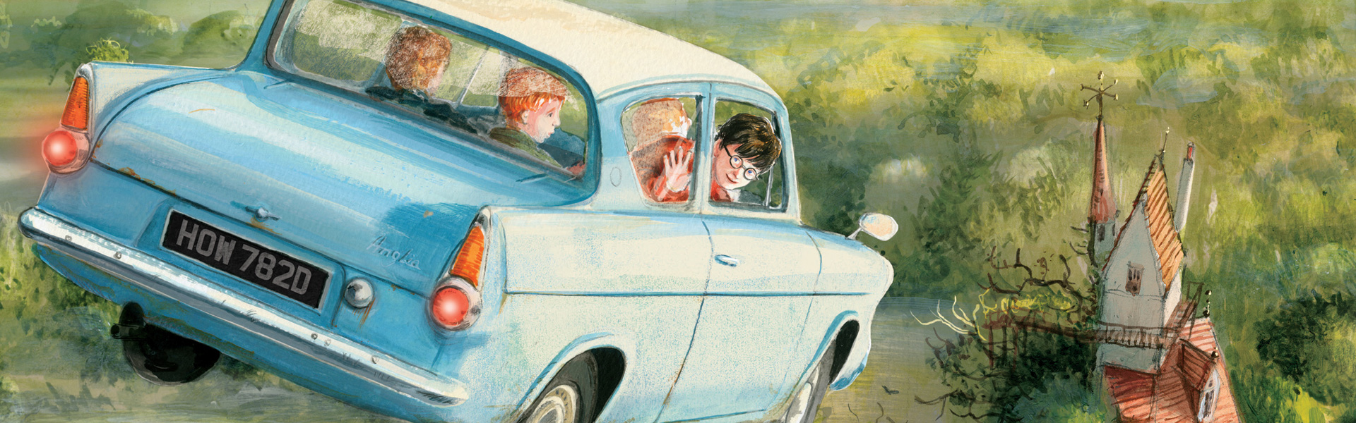 15 Things We Hope Jim Kay has Illustrated for Harry Potter and the Chamber of Secrets