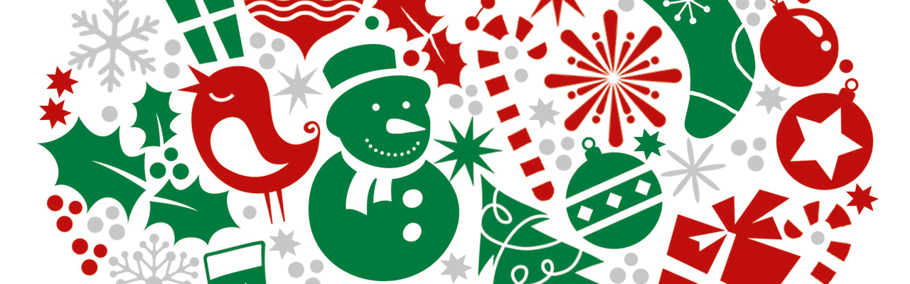 I Heart Colouring Christmas Free Pattern Download