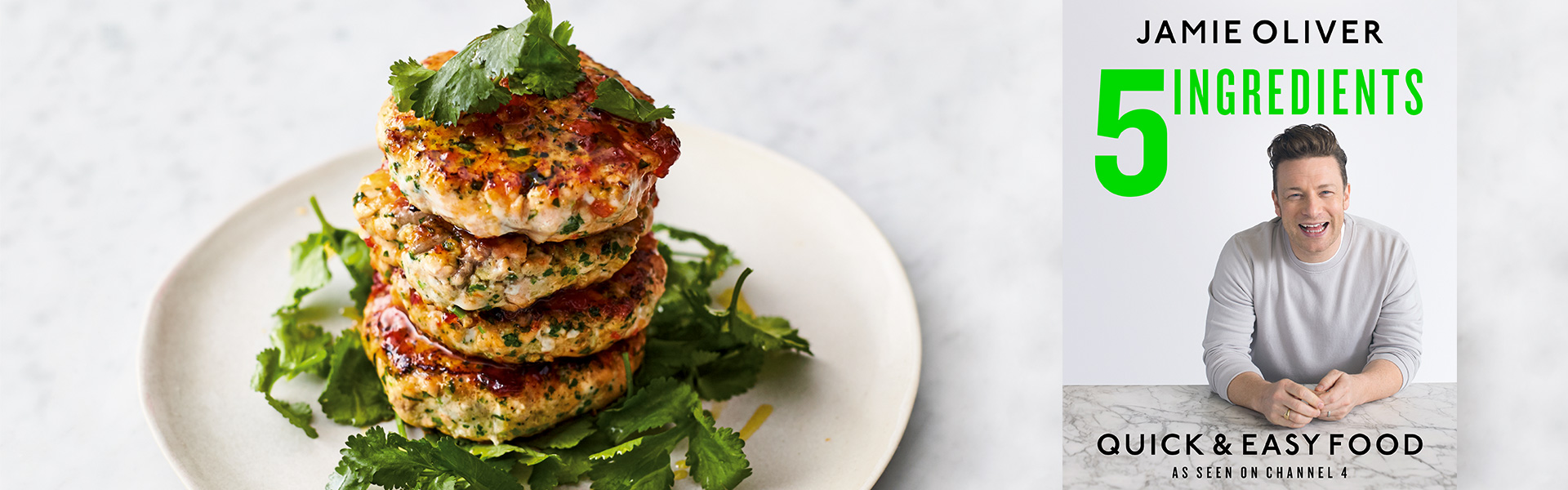 Jamie Oliver: Quick Asian Fishcakes Recipe