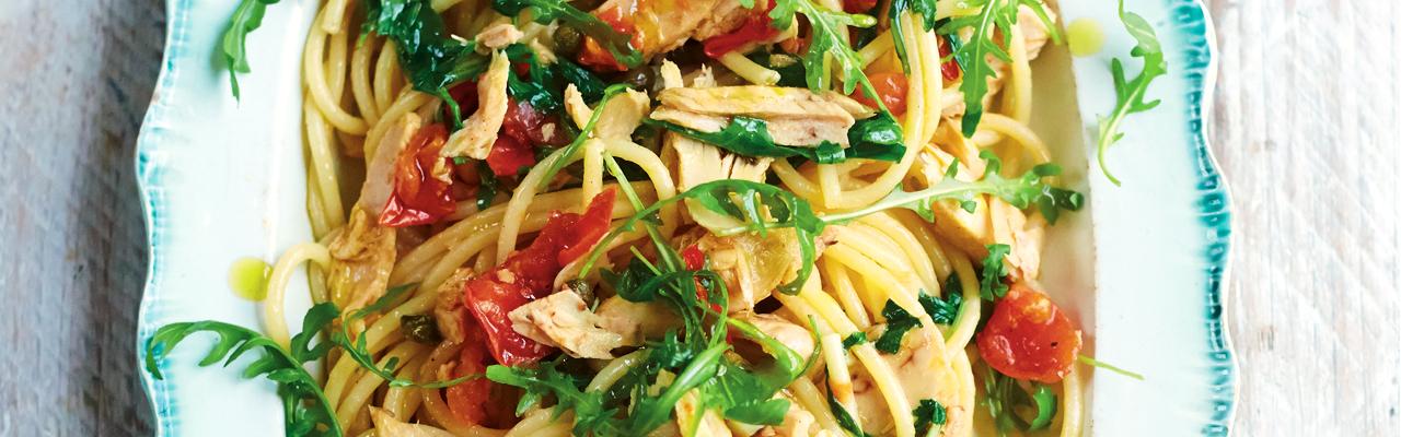 Gennaro Contaldo: Simple Tuna Bucatini Recipe