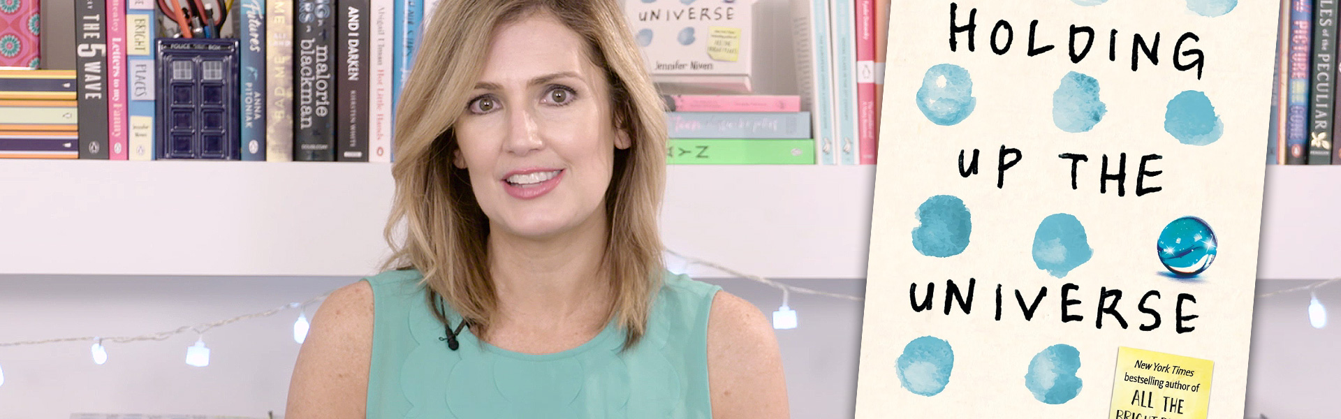 Exclusive Video! Jennifer Niven Discusses the Inspiration for Jack in Holding up the Universe