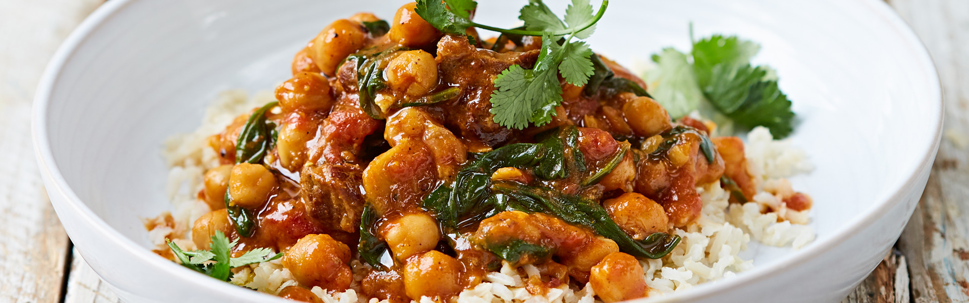 Jamie Oliver: Lamb and Chickpea Curry Recipe