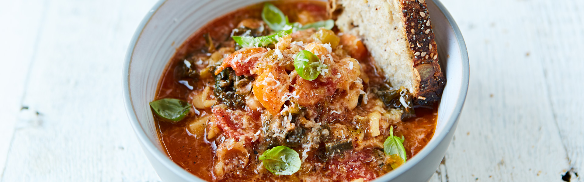 Jamie Oliver: Minestrone Soup Recipe