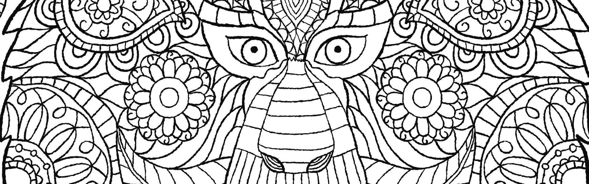 Jungle book colouring in pictures - The Macmillan Jungle Book Colouring Book Free Monkey Pattern Download