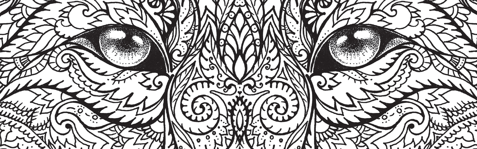 The Macmillan Jungle Book Colouring Book Free Wolf Pattern ...