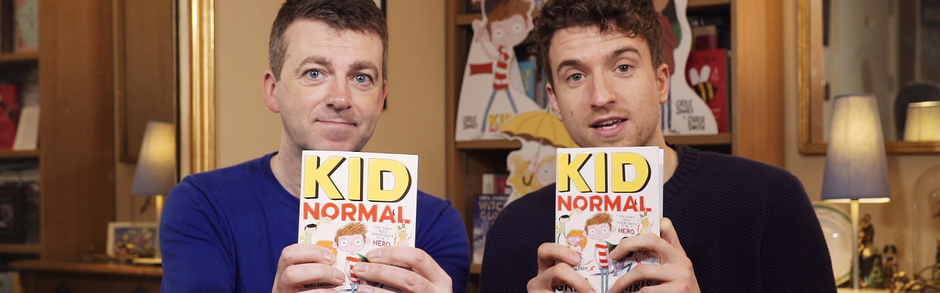 Greg James and Chris Smith Read an Extract from Kid Normal