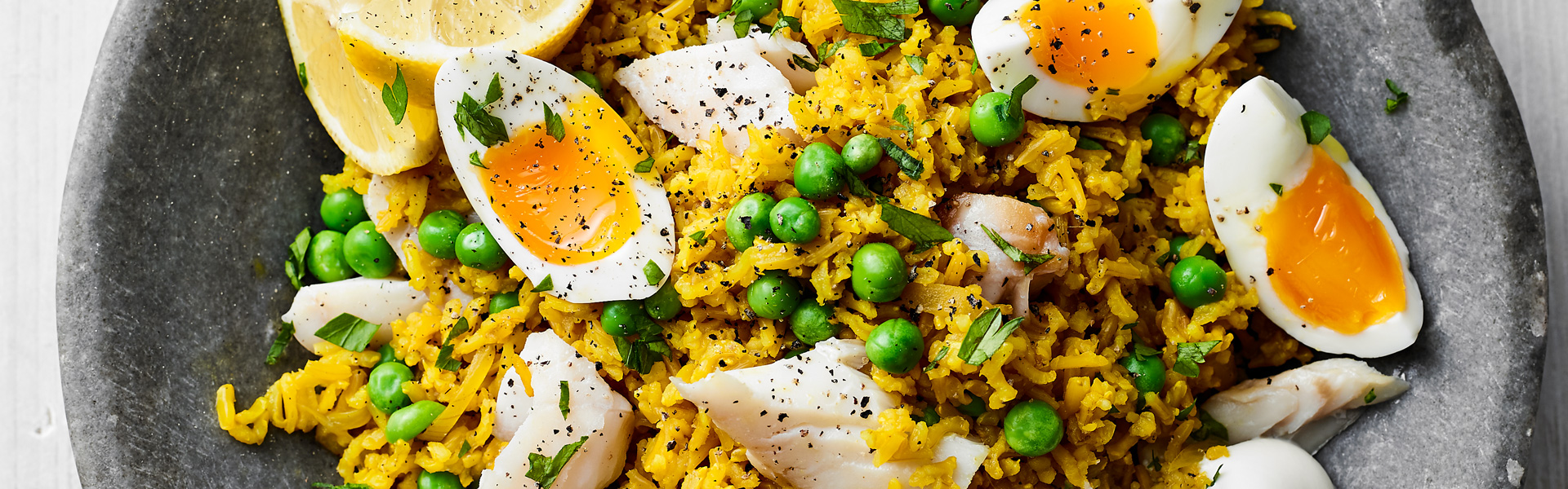 Liz Earle: Turmeric Spiced Kedgeree Recipe