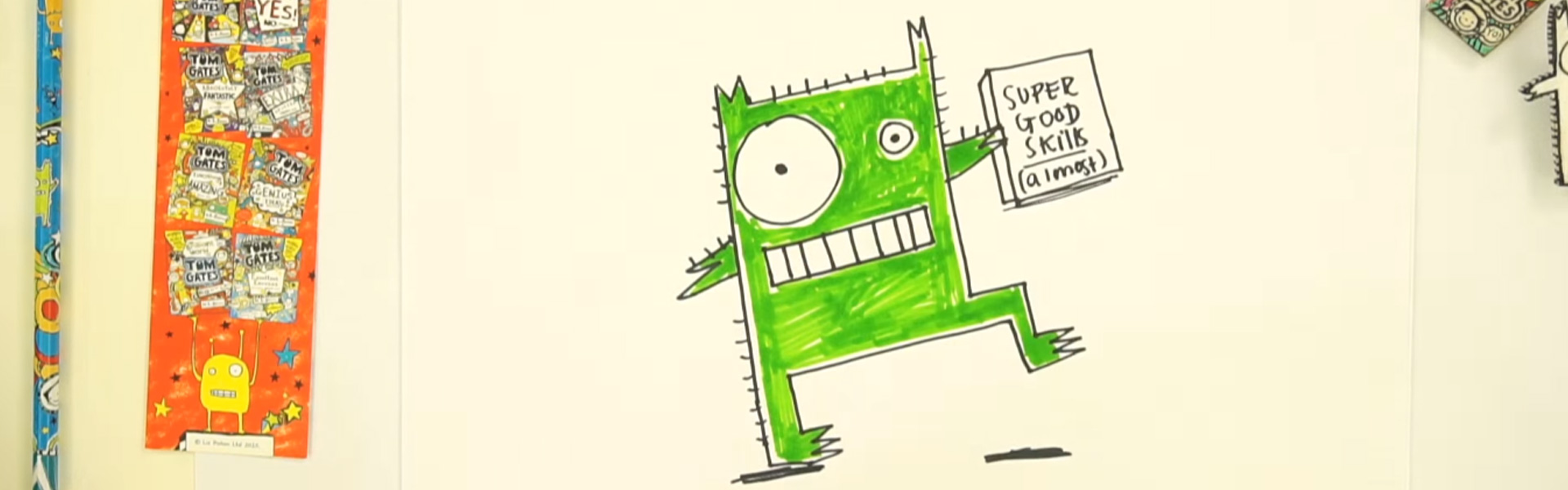 Liz Pichon: How to Draw a Monster