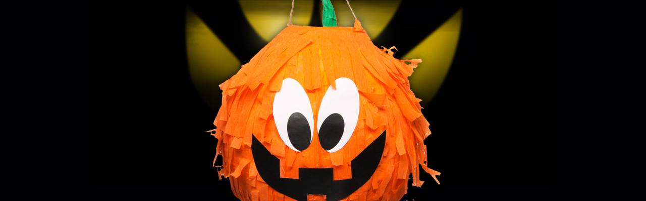 How to Make Your Own Halloween Pumpkin Pinata
