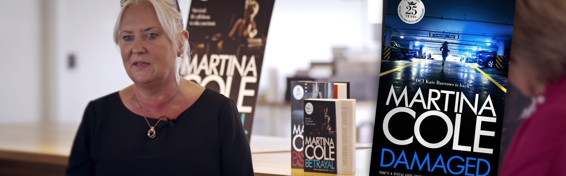 Exclusive Video! Martina Cole Discusses How Policing has Changed Since The Ladykiller