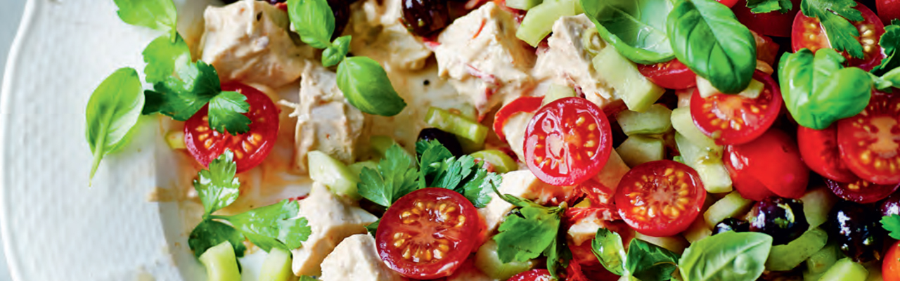 Mary Berry's Recipe for Chilled Gazpacho Chicken