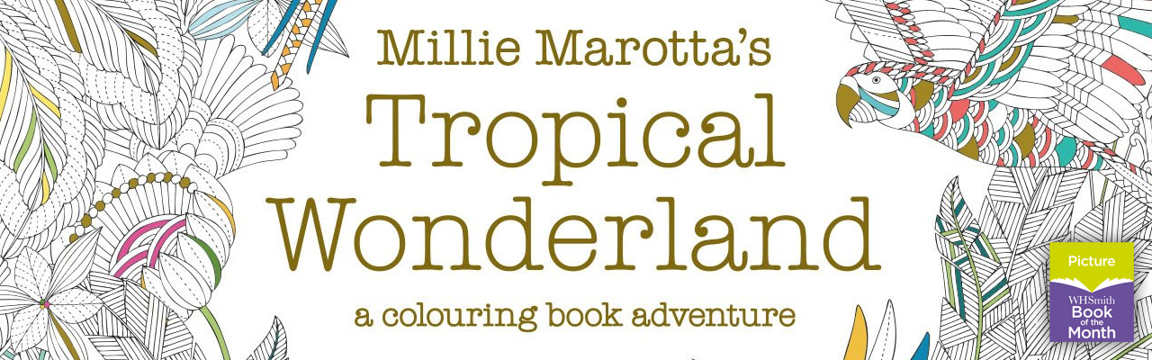 Picture Book of the Month: Millie Marotta's Tropical Wonderland