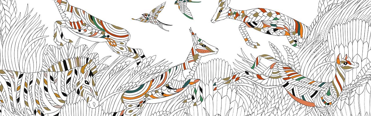 Millie Marottas Wild Savannah Free Pattern Download Klipspringer