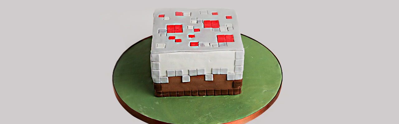Minecraft Cake Recipe