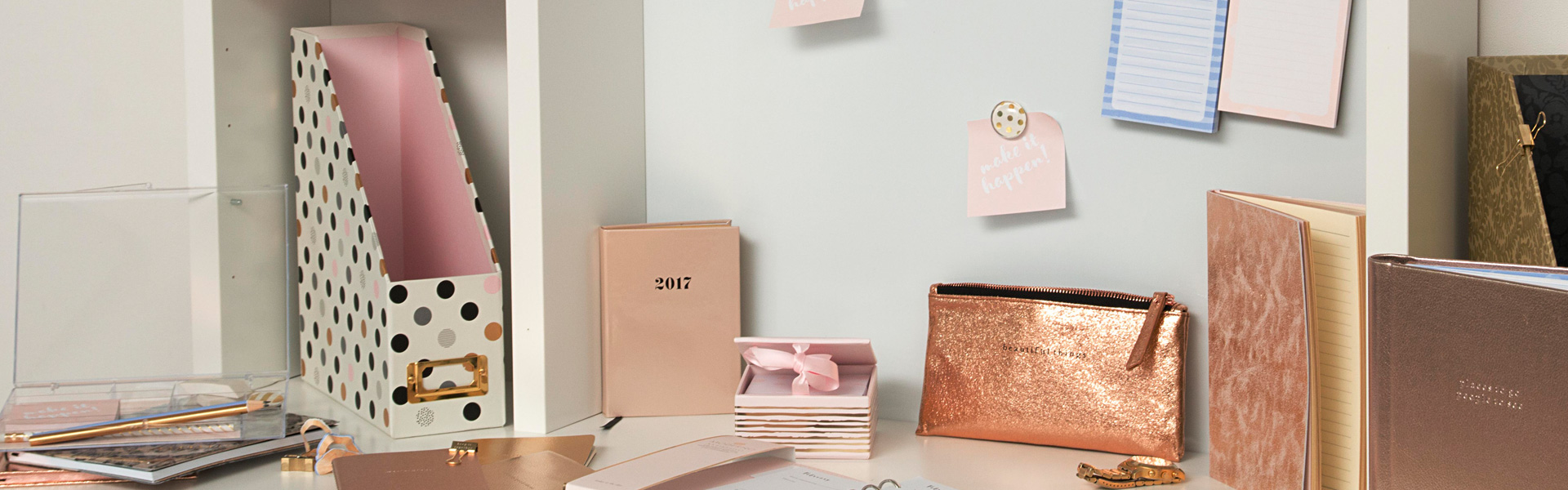 Moderno Woman: Rose Gold Stationery of Dreams!
