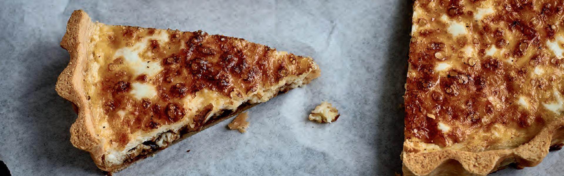 Nadiya Hussain: Ploughman's Cheese and Pickle Tart Recipe