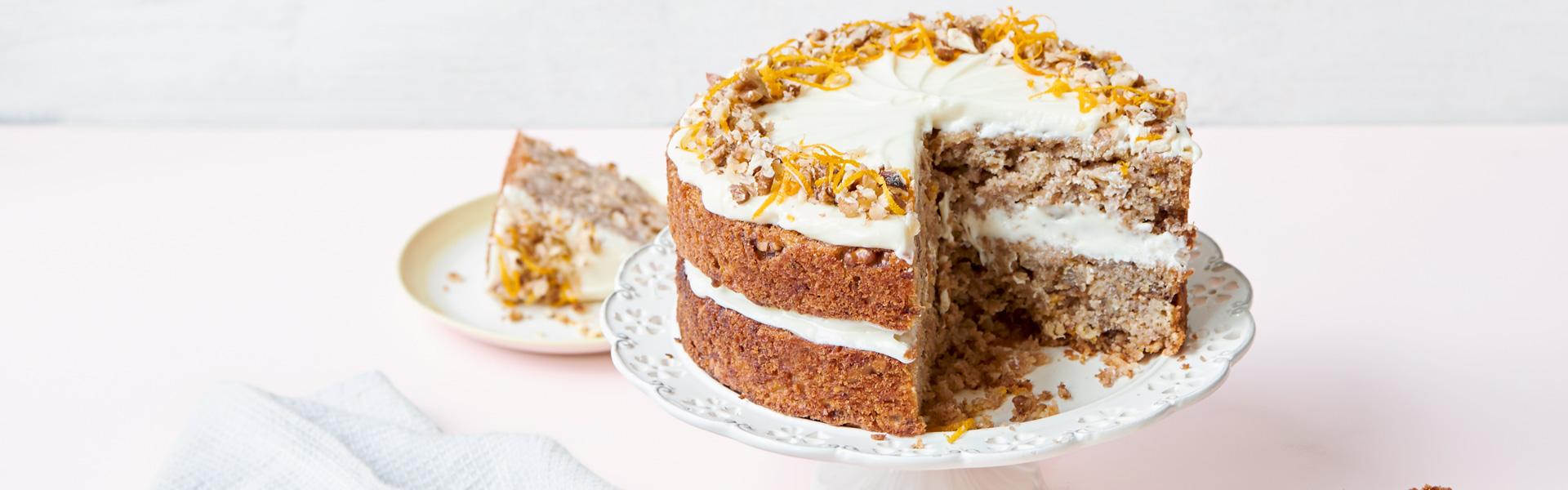 Nadiya Hussain: Parsnip and Orange Spiced Cake