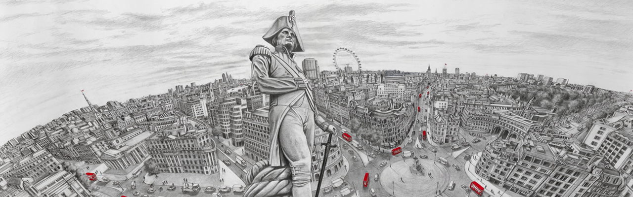 Derwent Art Prize Winner Paul Hiles on Drawing Cityscapes