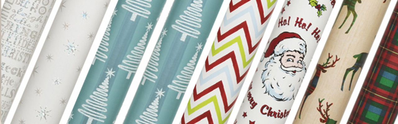 Take a Sneak Peek at Our Luxury Christmas Wrapping Paper Looks