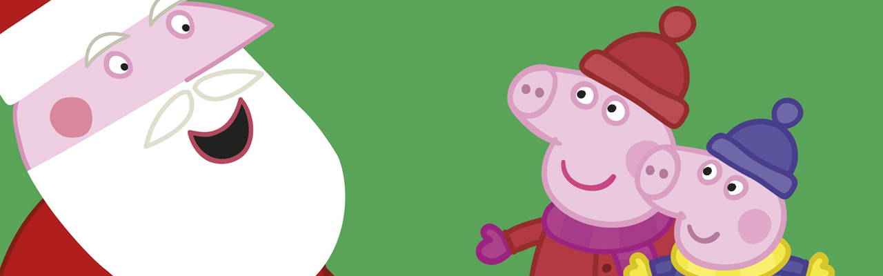 Peppa Pig: Peppa's Christmas Wish Free Colouring Download