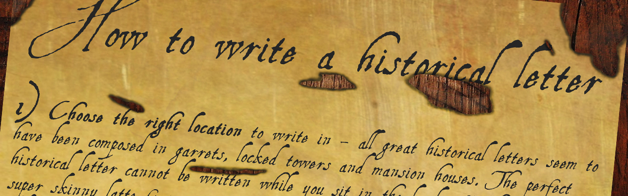 mills boon how to write the perfect historical letter