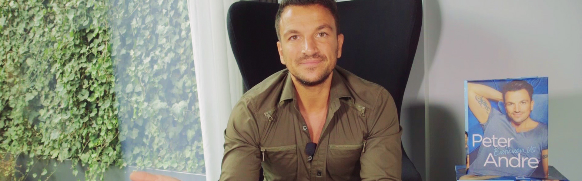 Peter Andre Reads an Extract from Between Us