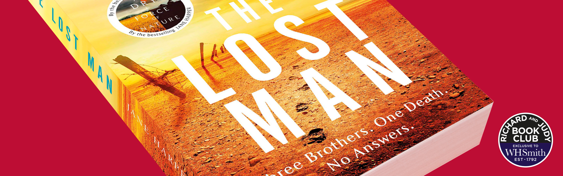 Richard and Judy Introduce The Lost Man by Jane Harper