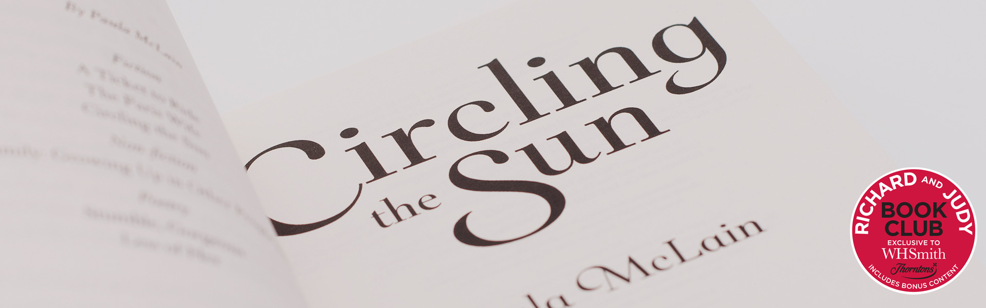 Richard and Judy Podcast: Paula McLain discusses Circling the Sun