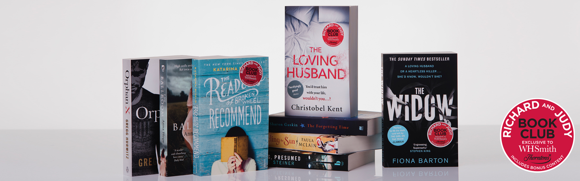 Vote Now For Your Richard and Judy Autumn Book Club 2016 WINNER!