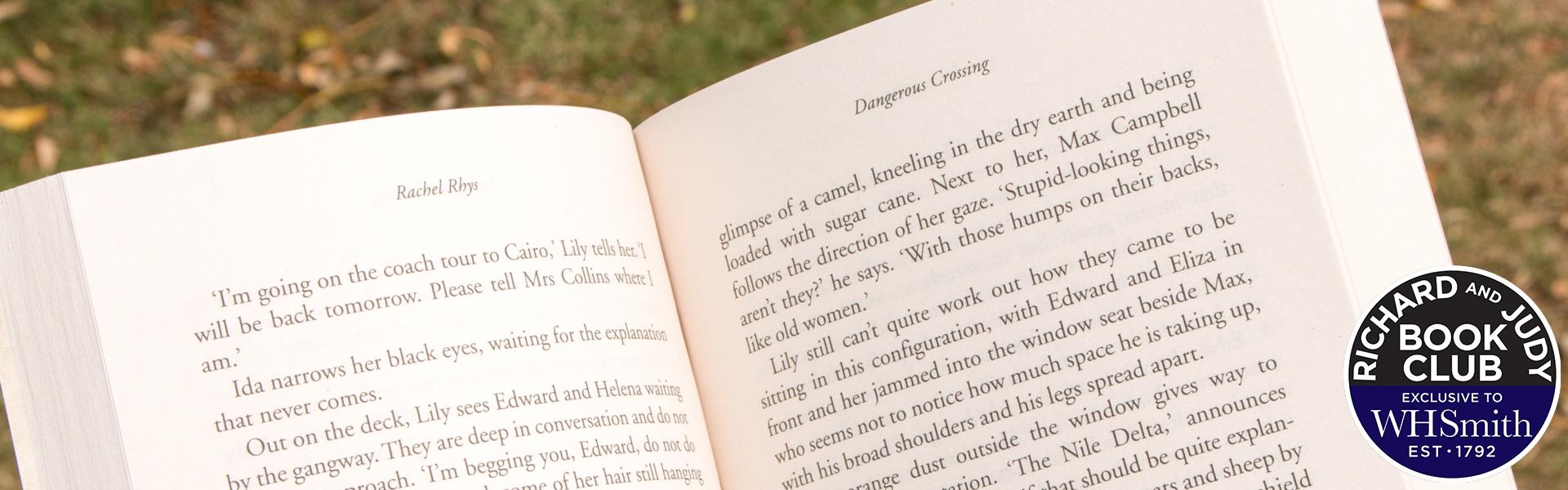 Read an Extract from Dangerous Crossing by Rachel Rhys