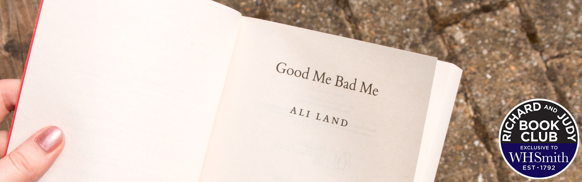 Read an Extract from Good Me Bad Me by Ali Land