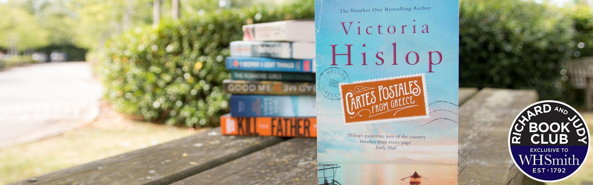 Richard and Judy Introduce Cartes Postales from Greece by Victoria Hislop