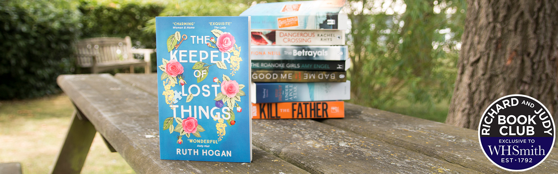 Richard and Judy Introduce The Keeper of Lost Things by Ruth Hogan