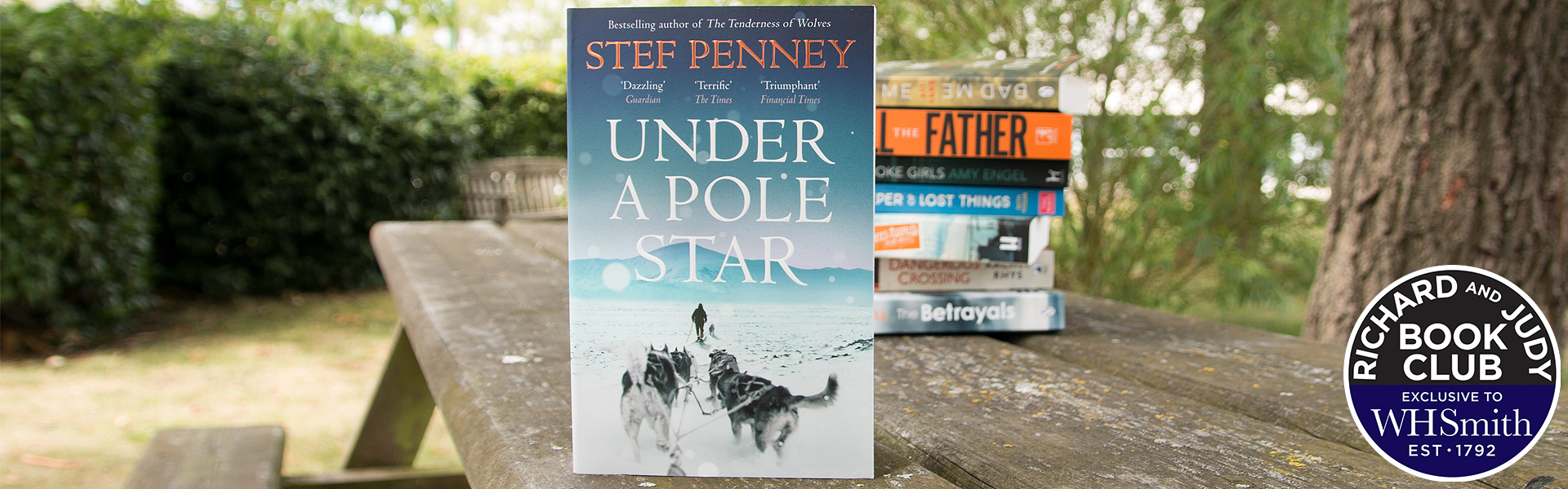 Richard and Judy Introduce Under a Pole Star by Stef Penney