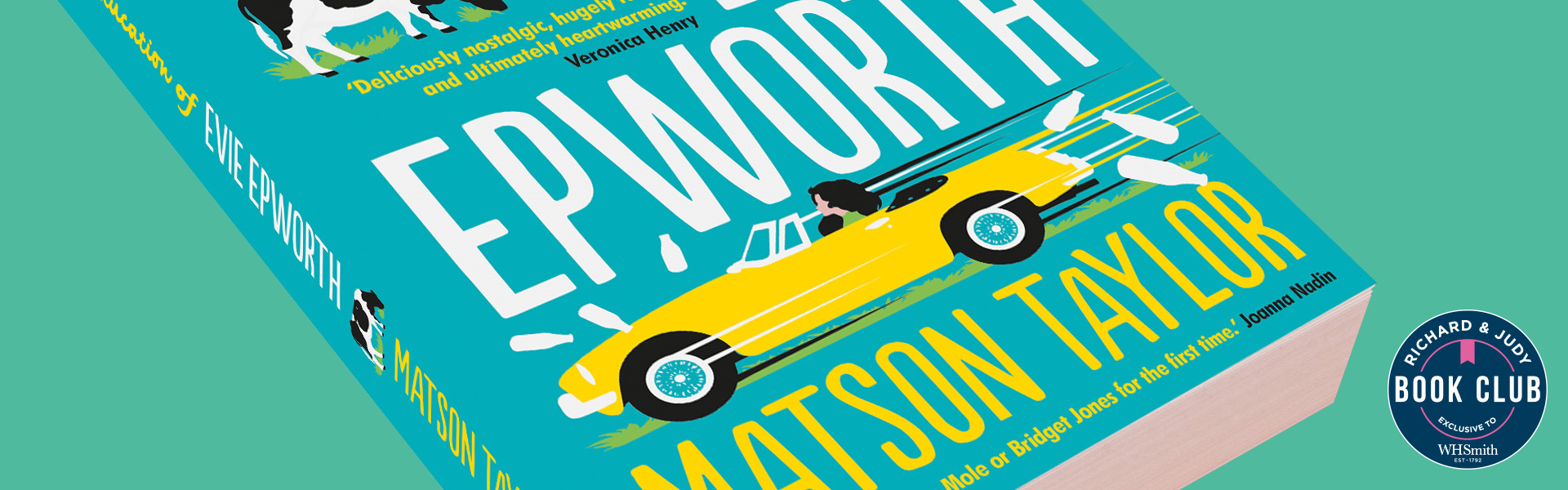 Richard & Judy Introduce The Miseducation of Evie Epworth by Matson Taylor
