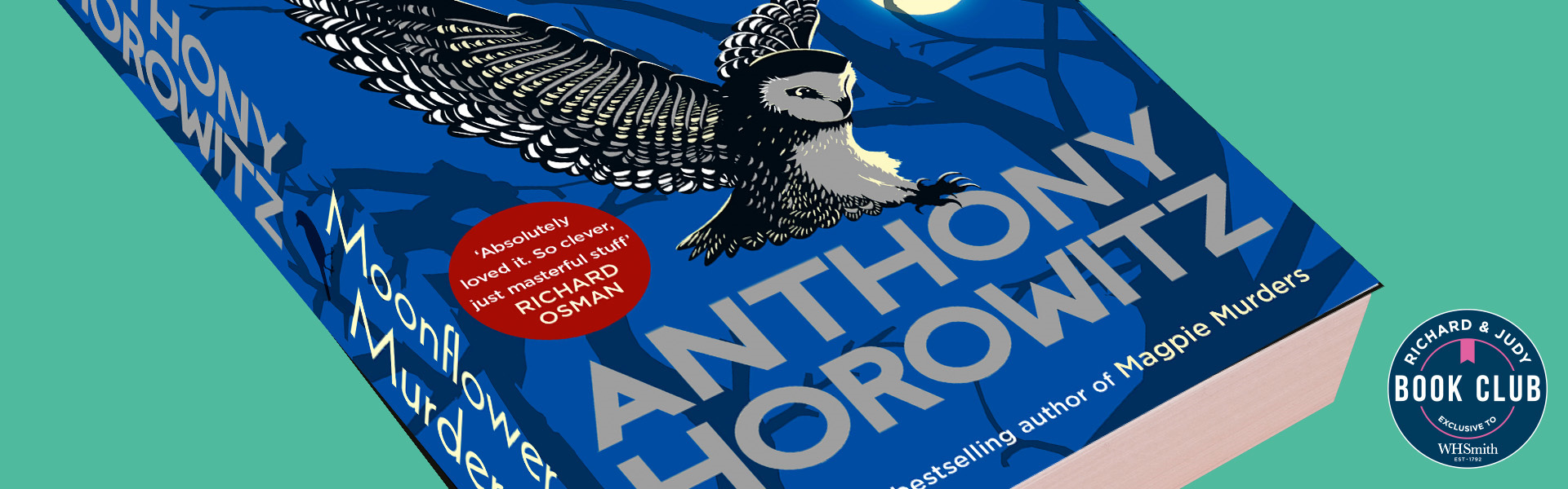 Richard & Judy Introduce Moonflower Murders by Anthony Horowitz