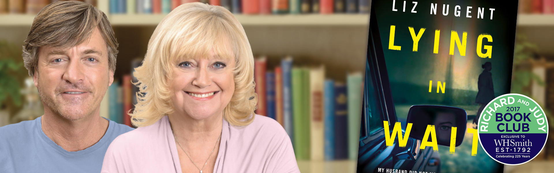 Richard and Judy Review: Lying in Wait by Liz Nugent