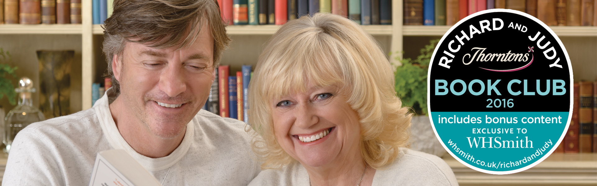The Richard and Judy Book Club Summer 2016 – Welcome
