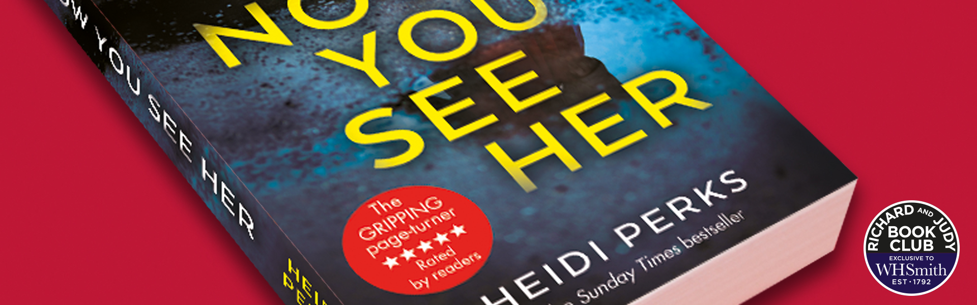 Richard and Judy Introduce Now You See Her by Heidi Perks
