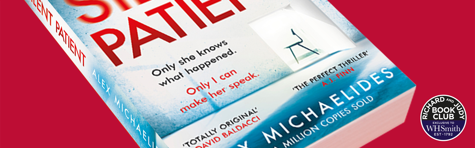 Richard and Judy Introduce The Silent Patient by Alex Michaelides