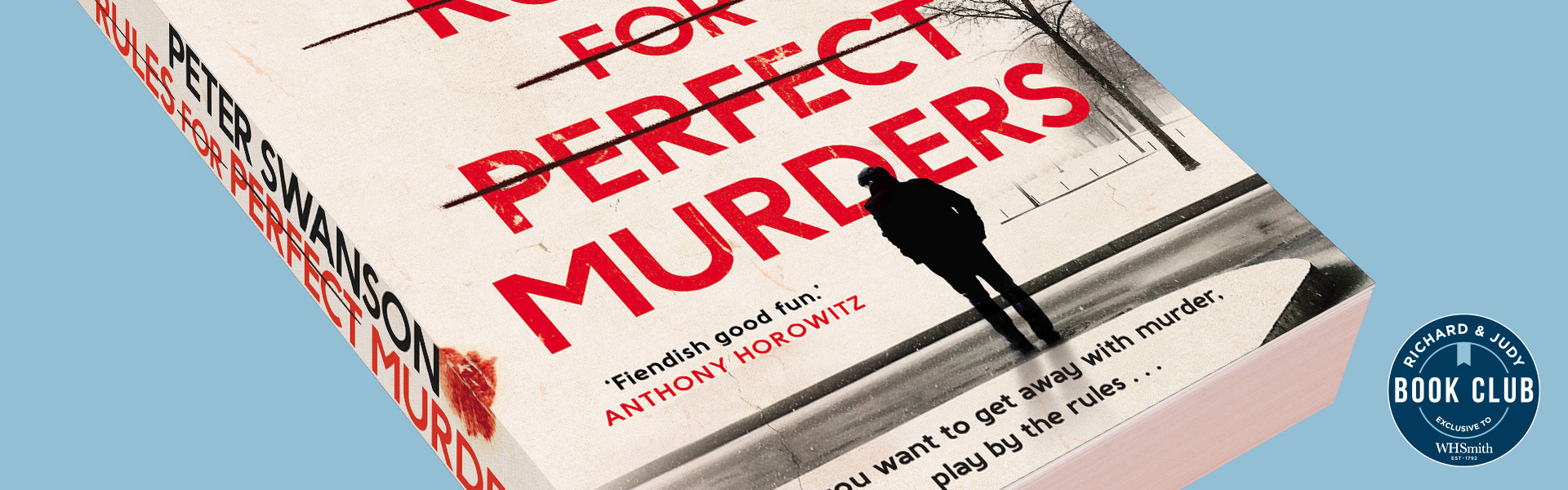 Richard & Judy Introduce Rules for Perfect Murders by Peter Swanson
