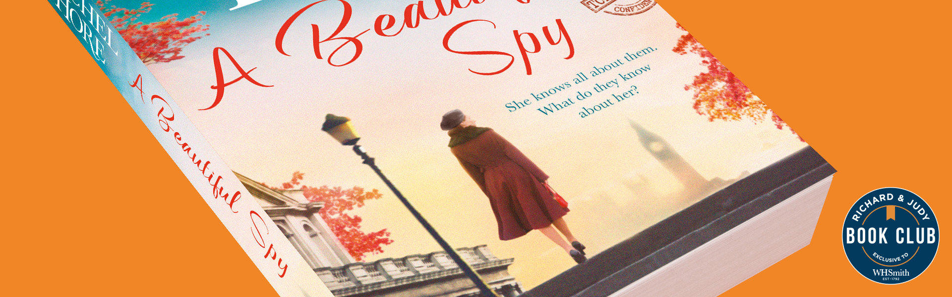 Richard & Judy Introduce A Beautiful Spy by Rachel Hore