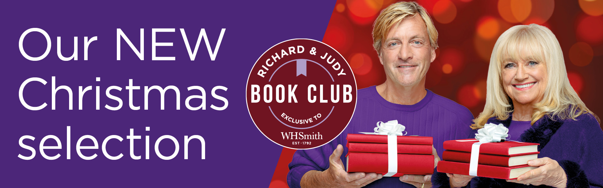 The Richard and Judy Christmas Book Club 2020